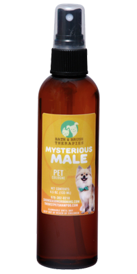 Mysterious Male Pet Cologne