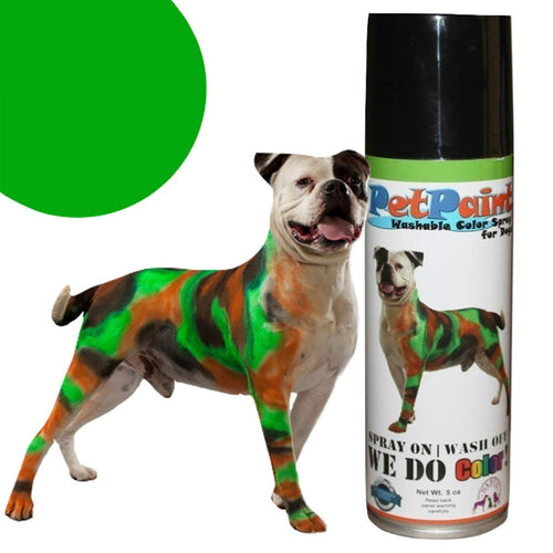 Pet Paint Greyhound Green 5oz
