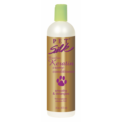 Pet Silk Keratin Creme Conditioner 16oz
