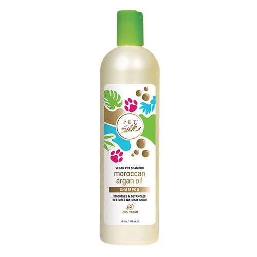 Pet Silk Vegan Moroccan Argan Oil Shampoo 16oz
