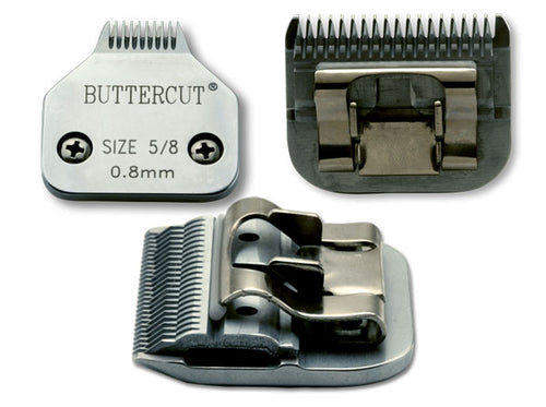 Geib Buttercut Stainless Steel 5/8 inch Toe Blade
