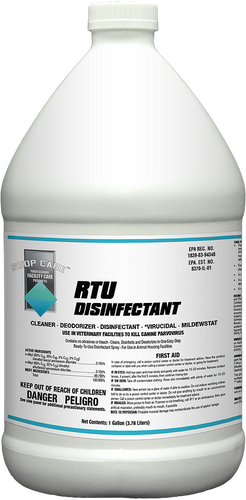 Shop Care RTU Concentrate Disinfectant Gallon