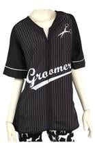 Retro Stylist Wear Women's Baseball Groomer Smock