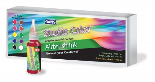 Davis Studio Color Airbrush Ink Box of 10