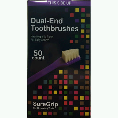 Dual Ended Toothbrushes - 50 pack