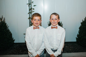 Wood Bowties - Daddy and Me