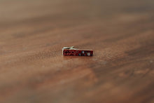 Wood Tie Clip- Atomic