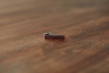 Wood Tie Clip- Radio Design