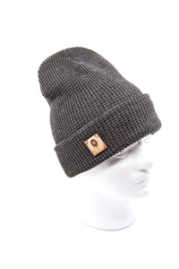 Soft Knit Beanie + WL Wood Patch