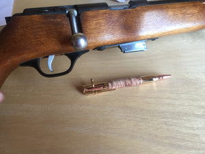 Bolt-Action Bullet Pen