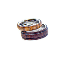 3mm Biocompatible Titanium/Wood Ring