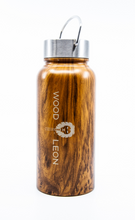 Vacuum bottle: Wood +Stainless steel - 30oz