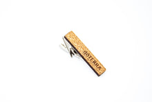 Wood Tie Clip- CUSTOM ENGRAVED
