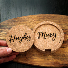 SET of CUSTOM Cork Coasters