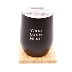 *PERSONALIZED 12oz tumbler insulated mug w/out handle