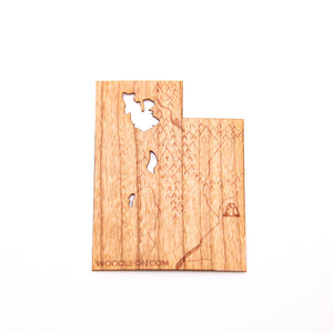 Wood State Stickers