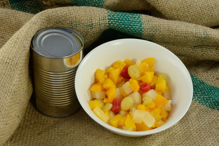 how long is canned fruit good for