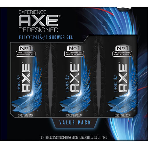 AXE Revitalizing Shower Gel, Phoenix (16 fl. oz., 3 pk.) - EZneeds