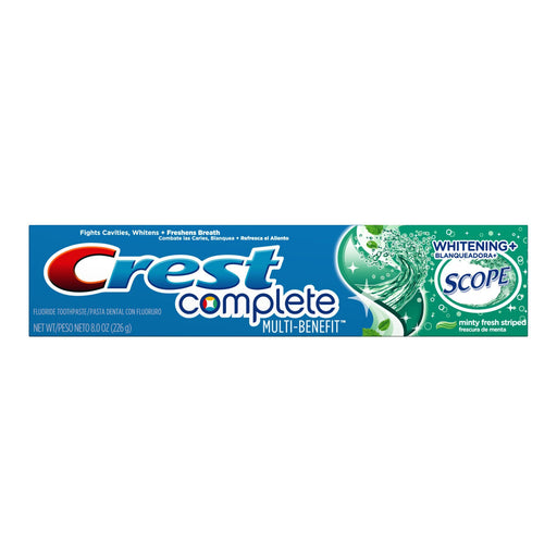 Crest Complete Whitening + Scope Toothpaste, Mint (5.8 oz.) - EZneeds
