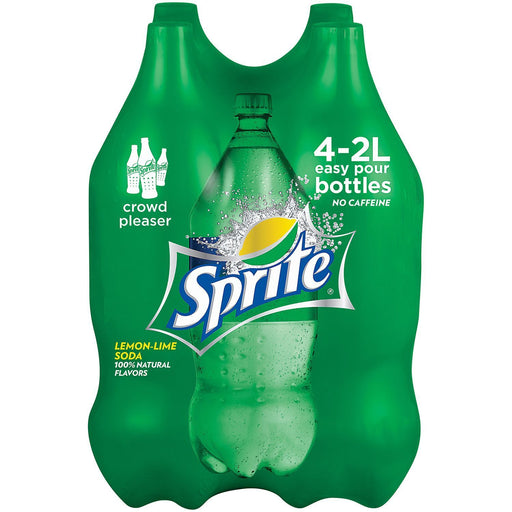 Sprite Lemon Lime Soda (2L bottles, 4 ct.)