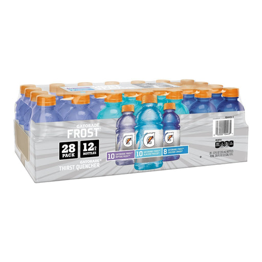 Gatorade Frost Variety Pack, Riptide Rush/Glacier Freeze/Cascade Crash (12 oz., 28 pk.)