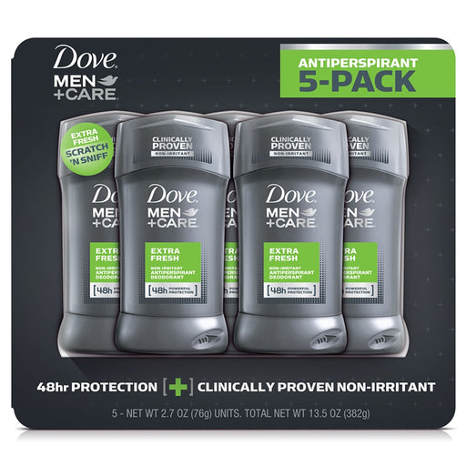 Dove Men Care Deodorant, Extra Fresh (2.7 oz., 5 pk.) - EZneeds