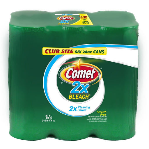 Comet 2X Bleach Powder Cleanser (28 oz., 6 pk.) - EZneeds
