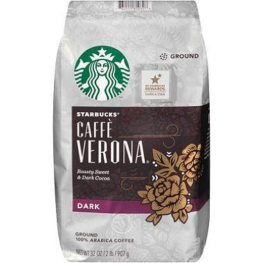 Starbucks Coffee, Caffe Verona (Ground, 2 lb.)