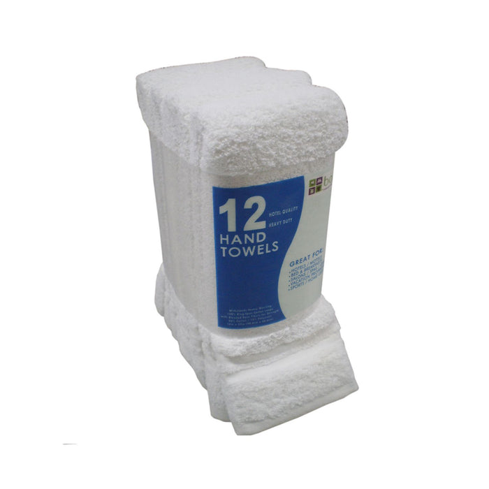 "Hand Towels - 16"" x 27"", Blue (12 pk.)"
