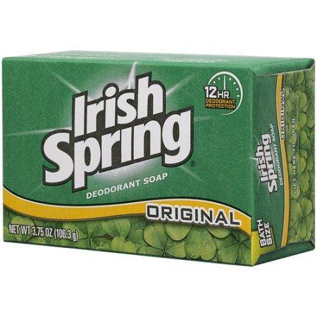 Irish Spring Deodorant Soap (3.75 oz., 1 bar)