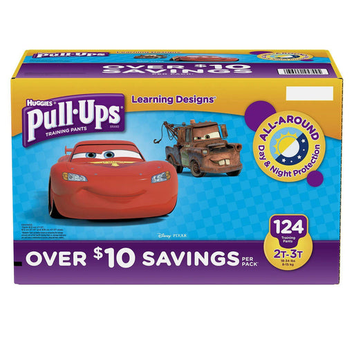 Huggies Pull-Ups Training Pants for Boys (2T/3T, 124 ct.)