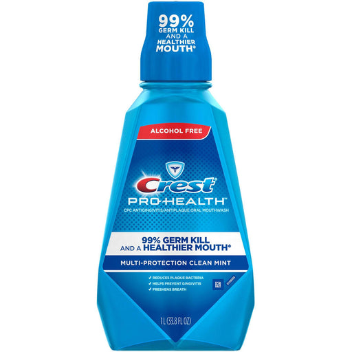 Crest ProHealth Advantage Rinse, Smooth Mint (33.8 fl. oz.) - EZneeds