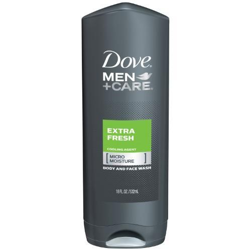 Dove Men+Care Body and Face Wash, Extra Fresh (18 oz.) - EZneeds