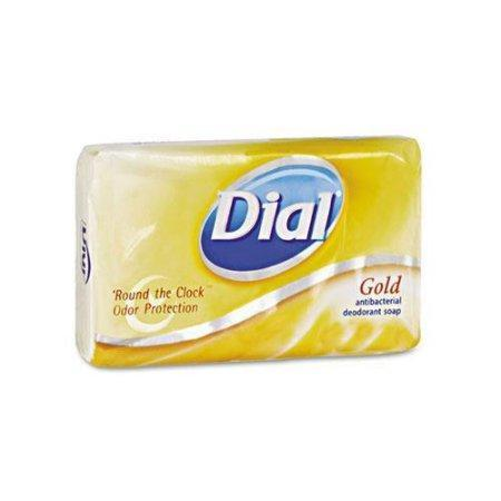 Dial Antibacterial Deodorant Soap, Gold (4 oz., 1 bar) - EZneeds