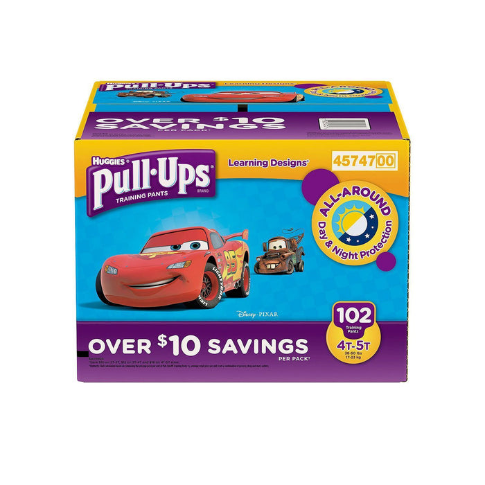 Huggies Pull-Ups Training Pants for Boys (4T/5T, 102 ct.)