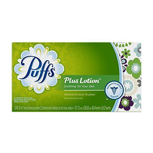 Puffs Plus with Lotion Facial Tissue (124 tissues)