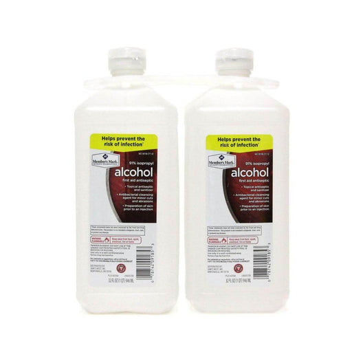 91% Isopropyl Alcohol (32 fl. oz., 2 pk.) - EZneeds