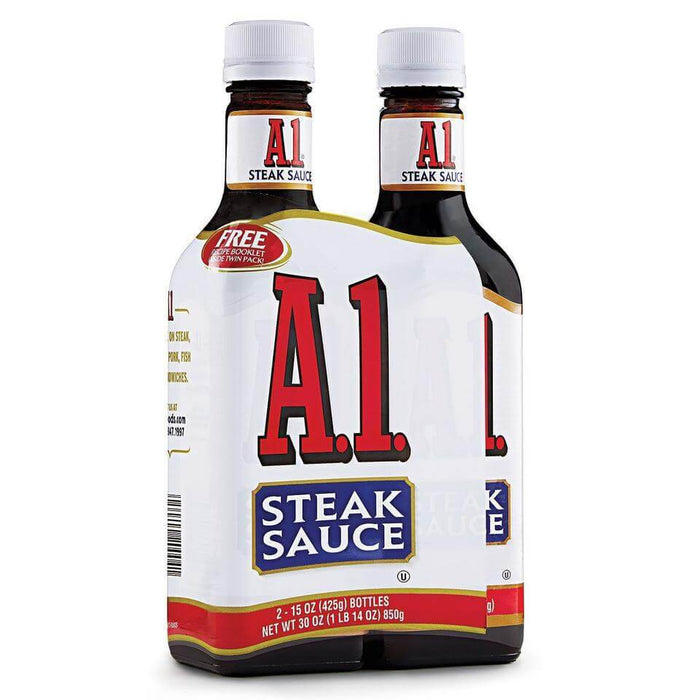 A-1 Steak Sauce (15 oz., 2 ct.) - EZneeds