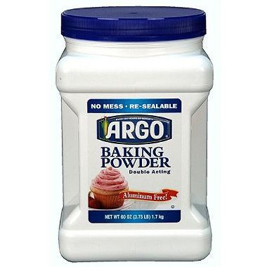 ARGO Baking Powder (60 oz.) - EZneeds