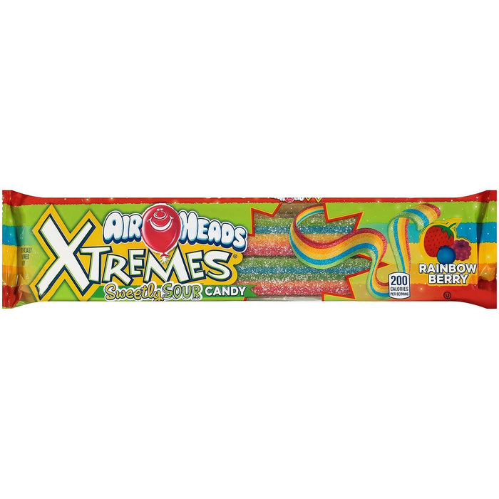Airheads Xtremes Sour Belts (18 ct.) - EZneeds