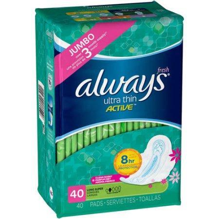 Always Ultra Thin Fresh Regular Pads (48 ct.) - EZneeds