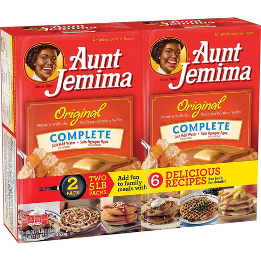 Aunt Jemima Original Pancake and Waffle Mix (5 lbs., 2 pk.) - EZneeds