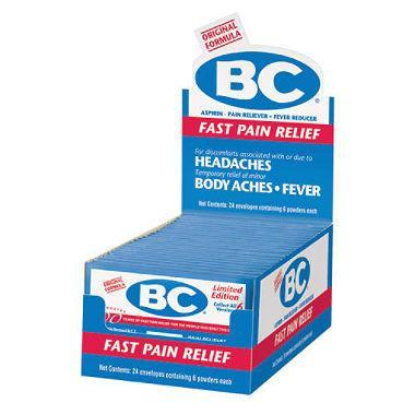 BC Fast Pain Relief (24 envelopes) - EZneeds