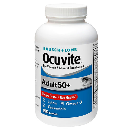 Bausch + Lomb Ocuvite Supplement, Adult 50+ (150 ct.) - EZneeds