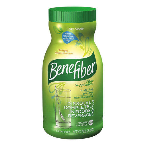 Benefiber Fiber Supplement (26.8 oz., 190 servings) - EZneeds