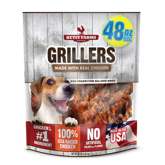Betsy Farms Grillers Dog Treats (48 oz.) - EZneeds