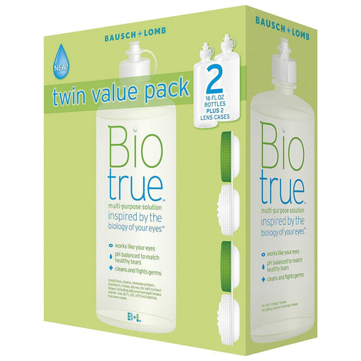 Biotrue Multi-Purpose Solution (16 oz., 2 pk.) - EZneeds