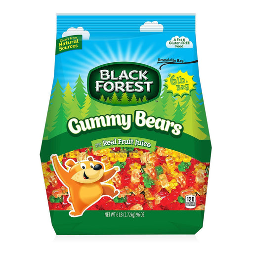 Black Forest Gummy Bears (6 lbs.) - EZneeds