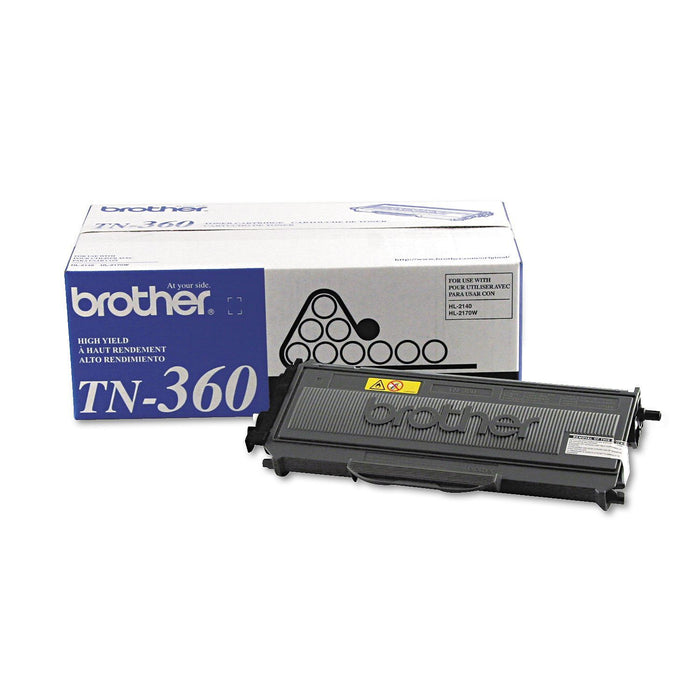 Brother TN360 Toner Cartridge (Black, 2,600 Page Yield) - EZneeds