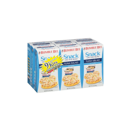 Bumble Bee Tuna Salad Snack Kit (3.5 oz., 9 ct.) - EZneeds